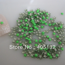 1 Bag OD-72-Green Free Shipping 3D 3x3mm Neon Green Small Star Metal Stud Shiny Nail Decoration Lovely Outlooking