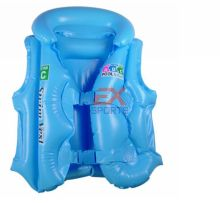 Children life jacket vest Swimming Aid Inflatable Floating Life Jacket Vest For Kids Retail Wholesale 3 colors sizes ES1080(China)