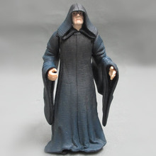 Free shipping 1pcs 10cm=3.9'' Original Star Wars 7 Biggest Villain Palpatine Model Decoration PVC Toy Action Figure Doll