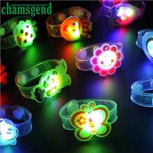 CHAMSGEND Modern Light Flash Toys Wrist Hand Take Dance Party Dinner Party Toys for Children kids Toy Dropshipping H28