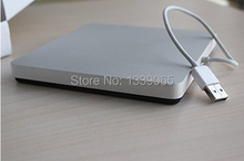 Super Slim External Slot in USB2.0 CD DVD Drive external Case Enclosure IDE to usb interface 9.5mm/12.7mm