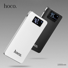 HOCO 10000mAh Power Bank for iPhone Dual USB Output Mobile Phone Portable Charger External Battery for Xiaomi Samsung Powerbank