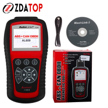 AUTEL Distributor Diagnoses ABS System Codes On Most 1996 and Newer Major Vehicle Models Autel al 609 Powerful Functions(China)
