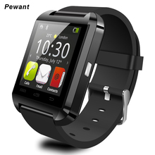 Factory Wholesale Smart Watch U8 With Passometer Bluetooth Smartwatch For Xiaomi Huawei Samsung Andriod Phone Pk Gt08 DZ09