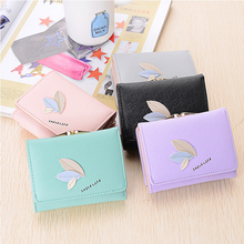 2017 Summer Korean Style New Wemen Purse Wallet Fashion Hasp Short Coin Purse Girl Student Fresh Wallet Lady Style short Wallet(China)
