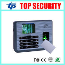 TX628 Biometric fingeprint time attendance with 125KHZ RFID card reader linux system TCP/IP fingerprint time attendance recorder