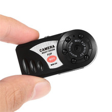 hot Mini camara espia Q7 Camera Wifi DVR Wireless Camcorder Video Recorder DV Infrared Night Vision Camera for Home monitoring