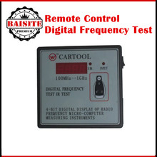 Car IR Infrared Remote Key Frequency Tester (Frequency Range 100-1000MHZ) Remote Control Digital Frequency Test CARTOOL
