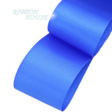 (5 meters/lot) 40mm Royal Blue Grosgrain Ribbon Wholesale gift wrap Christmas decoration ribbons(China)