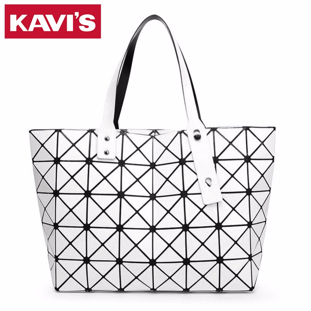 Famous Brand Women BAO BAO Bag Japanese Style Lady Geometry Style Female Shoulder Bags Large Top-Handle Woman Casual Tote<br>