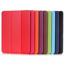 Ultra Slim Flip Cover Tablet Custer Folio Stand Leather Case For Samsung Galaxy Tab S2 9.7 T810 T815 T813 T819 Protective shell(China)