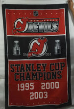 New Jersey Devils Stanley Cup Champions American Outdoor Indoor Baseball Hockey College Flag 3X5 Custom USA Any Team Flag