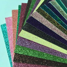 20piece 12inch Glitter Paper Crafts Free Shipping Morden Style Colorful Eco-friendly High Quality Glitter Paper(China)