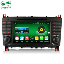 2GB RAM Android 7.1 Car DVD player Radio For Mercedes Benz C-Class W203 W209 Car GPS Multimedia Auto Navigation With 4G WiFi