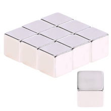 5/10pcs Mayitr N52 Neodymium Magnet Large Strong Block Square Cube NdFeB Magnetic Rare Earth Magnets for Jewelry 9*9*9mm(China)
