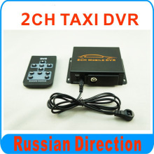 Hot sale 2CH D1 CAR DVR for taxi,car,bus used model BD-302B
