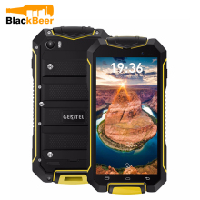 Cheapest Waterproof shockproof Smartphone GEOTEL A1 Quad Core 4.5 Inch 3G Android 7.0 1GB+8GB 3400mAh PK JEEP F605 phone(China)