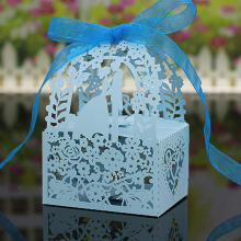 20PCS Laser Cut DIY Paper Gift Wedding Candy Box Party Wedding Favor Boxes Wonderful Gift Box Wedding Decoration(China)