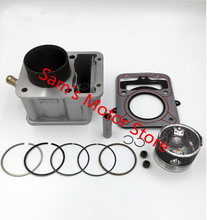 Water Cooled Cooling 62MM 174CM3 ZONGSHEN CG ZS 175 Motorcycle Cylinder Kits With Piston And Pin