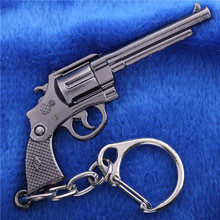 2015 Real Home Decoration Vintage Home Decor Coins Wholesale Manufacturers Around The Game Fire Cf Guns Trumpet Keychain Dm1336(China)