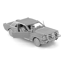 New Arrival 3D Metal Puzzles Ford Mustang Classic Car Toys 3D Metal Model NANO Puzzles New Styles  DIY Creative Gifts