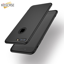 KISSCASE Fashion Matte Silicone Case For iPhone 6 6s Plus 7 7 Plus 5 5s SE Cases Ultra Thin Soft Silicon TPU Extreme Touch Cover
