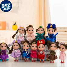 10pcs/lot wedding toy wedding gift doll free giveway gift mini plush teddy bear small stuffed teddy bears(China)