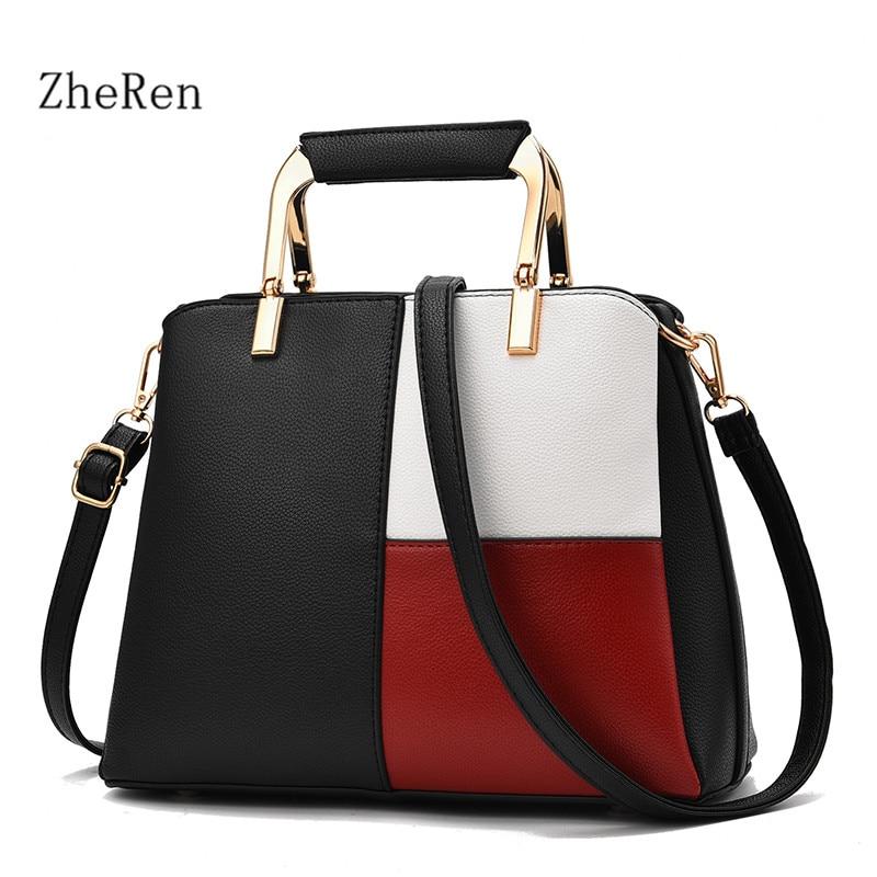 women Bag 2017 new fashion handbag color all-match Handbags Shoulder Bag Messenger Bag<br>