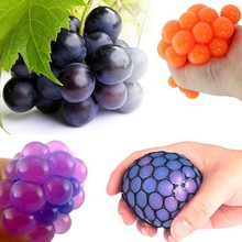 5cm Toys Antistress Face Reliever Grape Ball Autism Mood Squeeze Relief Healthy Toys Funny Geek Gadget for Men Jokes 2017