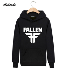 Hot!!! Fallen Cotton  Mens  jumper Rock n Roll Luxury Harajuku Hoodies High Quality Young People Favourite Hoodies XXS-XXXXL