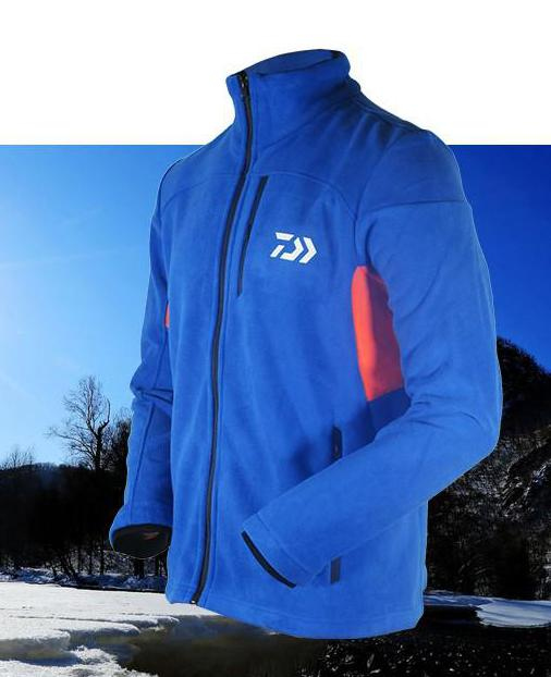 2017 New Autumn Winter Brand Outdoor Sport Clothing Coat Men Thicken Warm Fleece Fishing Jacket Patchwork Mens Jacket And Coats<br>