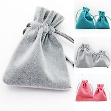 Drawstring Storage Cotton Linen Bag Small Beam Rope Pouches Home Decor Handbags Large Capacity Handmade Gift Bag Cloth 7C0159