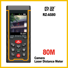 Buy RZ Original Camera Laser Distance Meter Range Finder Rangefinder 80m 120m Tape Trena Ruler Angle Bulid Tool Angle for $88.99 in AliExpress store
