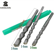 3 high quality L 350mm wall drill steel impact drill tungsten steel cement concrete diamond cutting saw carbide cutting tool