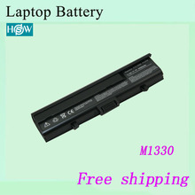 High quality FOR inspiron 1318 13 Laptop battery  For DELL  XPS M1330