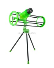 Visionking 76300 (76/300mm) Telescope Space Newtonian Reflector Astronomical Telescope Green 3 inch for beginner Kids Gift(China)