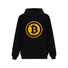 Buy Bitcoin Hooded Hoodies Men Sweatshirt Winter Fashion Virtual Currency Logo Men Hoodies Sweatshirt Funny Clothes for $14.99 in AliExpress store