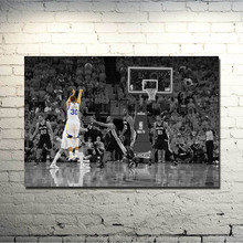 POPIGIST-Stephen Curry Art Silk Fabric Poster   Print 13x20 32x48inch Super Basketball Star Pictures for Home Wall Decor 013