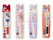 Limited Sanrio Frixion Point 3 in 1 Gel Pen Cooperated with Pilot 0.5 mm (Black+Blue+Red) Hello Kitty/ Melody