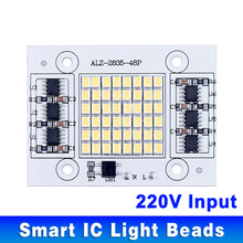 DIY LED SMD Bulb Lamp 20W 30W 50W Light Chip 230V Input Directly Smart IC Fit For DIY LED FloodLight Cold White Warm White(China)