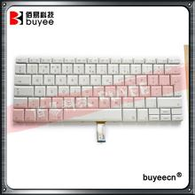 "Original White 15.4"" A1260 A1226 A1211 Portuguese PO Language Keyboard For Macbook Pro Portugal Layout Keyboards Replacement"