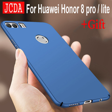 Huawei nova 2 plus case JCDA Brand For honor 9 Honor 8 pro lite V9 6X P10 plus case P9 mate 8 9 pro bag scrub cover hard PC Back