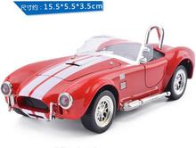 1:36 Scale Diecast Alloy Metal Classic Car Model For 1965 Ford Shelby Cobra 427S/C Collectible Model Collection Toys Car