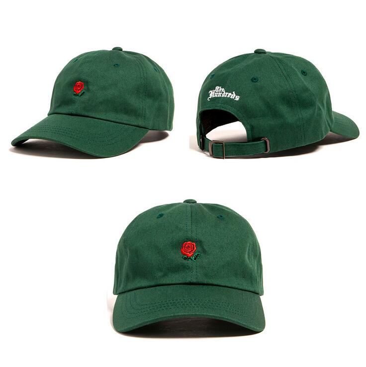 Green Pink Brown Khaki Sky Blue Red THE HUNDREDS Flower Rose Embroidery Curved Summer Snapback Baseball Cap Hip Hop Lovers cap<br><br>Aliexpress