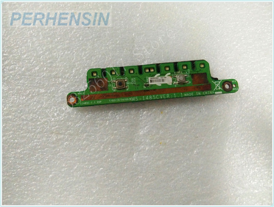 Original Genuine laptop FOR MSI FOR CE40 MS-14851 MS-1485C BUTTON BOARD<br>