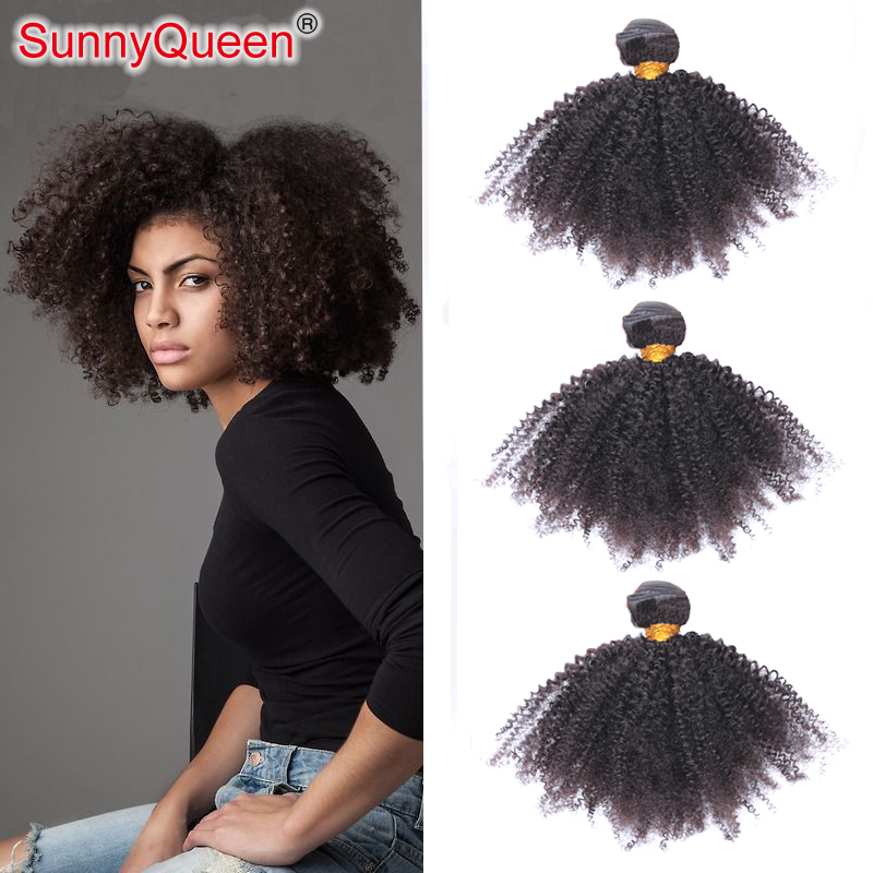 Sunny Queen Hair Products 6A Bohemian Afro Kinky Curly Virgin Human Hair Weaves Hot Sale 3PCS Bohemian Virgin Hair Afro Curly<br><br>Aliexpress