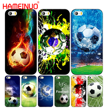 HAMEINUO football brazil germany sweden cell phone Cover case for iphone 6 4 4s 5 5s SE 5c 6 6s 7 8 plus case for iphone 7 X(China)