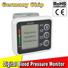 HOT!!! New Health Care Germany Chip Automatic Wrist Digital Blood Pressure  Monitor Tonometer Meter for Measuring And Pulse Rate