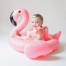 Summer Baby Pink Flamingo Swimming Ring Inflatable Swan balloon inflatable games toy