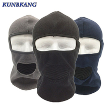 New Design Winter Cycling Face Mask Breathable Windproof Ski Balaclava Fleece Hat Scarf Men Sports Bicycle Snowboard Ski Mask(China)